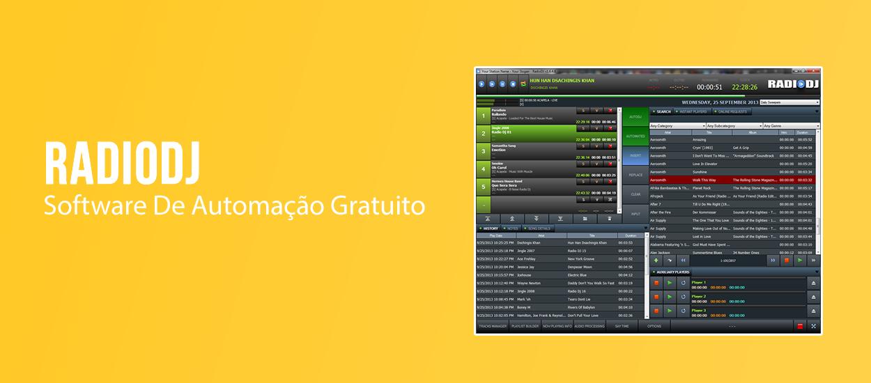 Software De Automação Gratuito RadioDJ